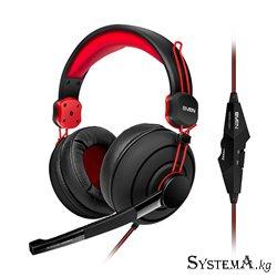 Наушники SVEN AP-G888MV Gaming, черный-красные