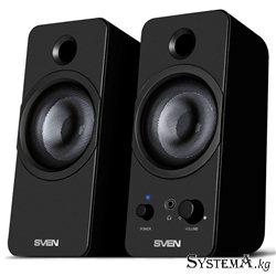 Акустическая система 2.0 SVEN 430, 6Вт, USB питание