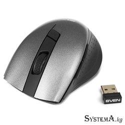 Мышь SVEN RX-425W, беспроводная, серая