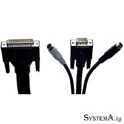Cable for KVM Switch Linksys (SVPPS10) Premium PS/2 KVM Switch Cable Kit 10'