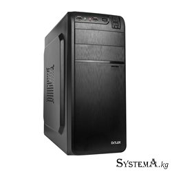 DELUX ATX DLC-DW600 BLACK TAC 2.0  W/O PSU