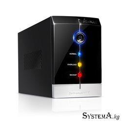 UPS SVC V-1200-F, Smart, USB, Диапазон работы AVR: 165-275В, Бат.: 12В/7.5 Ач*2шт., 3 вых.: Shuko CEE7, Защита тел. линии, Чёрны