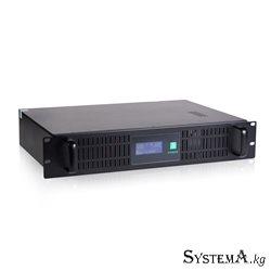 UPS SVC RTO-1.5K-LCD, 1500VA (900W), RTO-серия, Стоечный 2U, LCD\Tel.line, Smart, Диапазон работы AVR:165-275В, Бат.:12В/9Ah*2шт