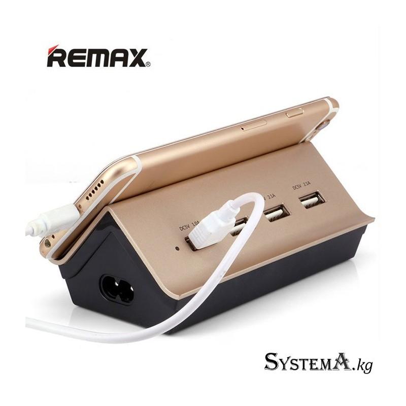 Зарядное устройство REMAX 4 Ports RU-U2 4.2A Gold