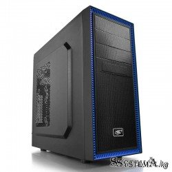 DEEPCOOL ATX  TESSERACT BF w/o PSU 1*USB 3.0 1*Black fan Dust filter Fully metal mesh front panel