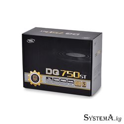 Power Unit DEEPCOOL DQ750ST 750W 80 PLUS® GOLD certified 100-240V/ Intel ATX12V 2.3 & SSI EPS 12V