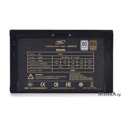 Power Unit DEEPCOOL DN500 V2 500W 80 PLUS® 230V EU certified 200-240V/Intel ATX12V 2.3&SSI EPS 12V