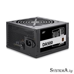 Power Unit DEEPCOOL DA500 500W 80 PLUS® Bronze certified 100-240V/ Intel ATX12V v 2.31 LED 120mm fan