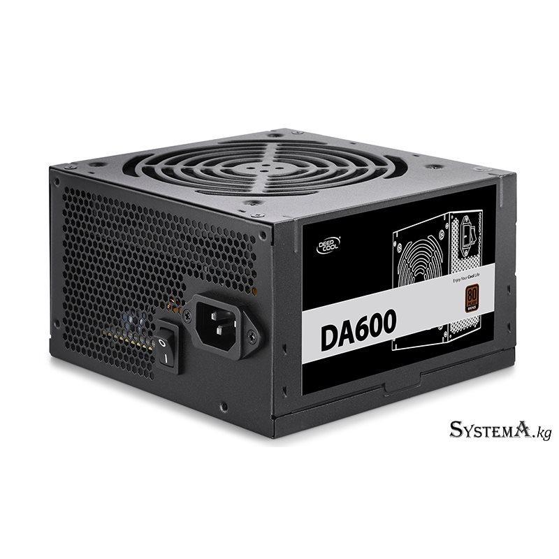 Power Unit DEEPCOOL DA600 600W 80 PLUS® Bronze certified 100-240V/ Intel ATX12V 2.3 & SSI EPS 12V