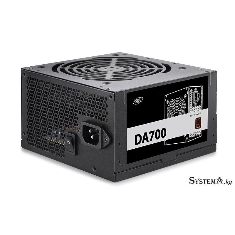 Power Unit DEEPCOOL DA700 700W 80 PLUS® Bronze certified 100-240V/ Intel ATX12V 2.3 & SSI EPS 12V