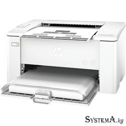 Printer HP LaserJet Pro M102a  (A4, 22 ppm, 600x600dpi, 128Mb, 600Mhz, 150 pages tray USB duty cycle - 10000 pages) [G3Q34A]
