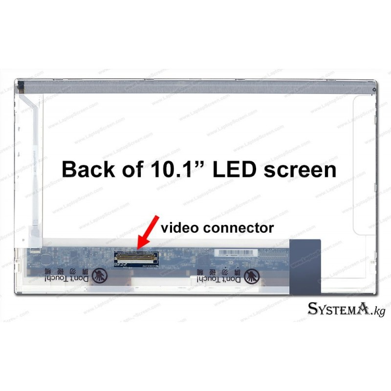 "LED PANEL 10.1"" (BOTTOM RIGHT) M101NWT2 R1 FOR NOTEBOOK"