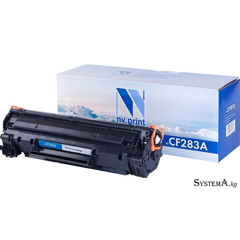 Картридж NvPrint HP CF283A для LJ M125/125FW/125A/M126/M126A/M127/M127FW/FN,M201/M22 (1500k)