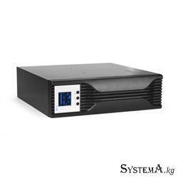 UPS SVC RTL-5KL-LCD, 5000VA (3000W), Стоечный 19'' 3U, RTL-серия, USB-SMART, Диапазон работы AVR: 145-275В, Бат.: 4 шт.(не поста