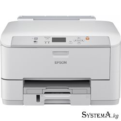 Принтер Epson WorkForce Pro WF-M5190DW (A4, 34ppm Black, 64-256g/m2, 1200х2400dpi, Duplex, USB, Wi-Fi, LAN)