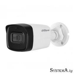 HDCVI Camera DAHUA DH-HAC-HFW1200TLP-A-S4A(2.8mm) цилиндр,уличная,2MP,IR 80M MIC METAL