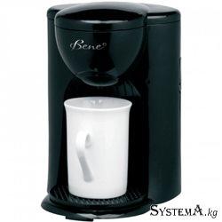 Кофеварка BENE F-10 BK(330Вт.капельная.пластик. 0,125 л.чашка в комплекте)