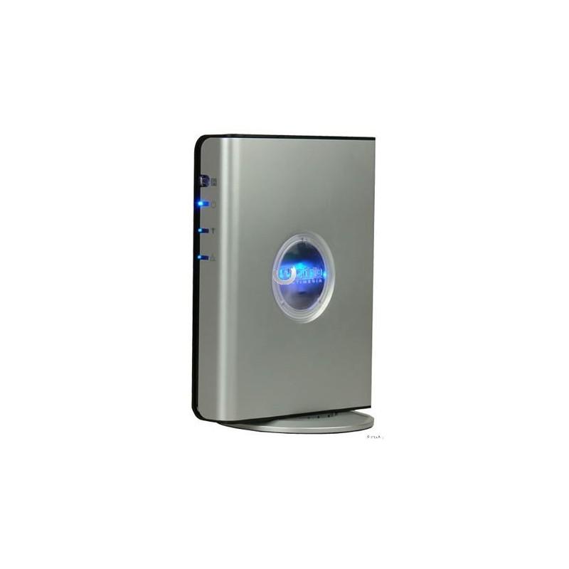 Digital Media Adapter Prestigio DMA-301 (DivX, DVD, VCD, MP3, CD, WMA,  PAL/NTSC/AUTO, ПДУ,LAN,Wi-Fi)