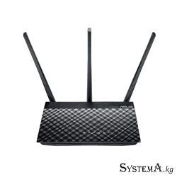 Wireless  AP+Router ASUS RT-AC53 AC750 Smart Dual Band Gigabit Router 3Antennas 300Mbps+433Mbps
