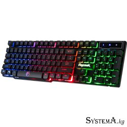 Keyboard Winstar RK-8165 GAMING BLUE/RED LED RUS USB